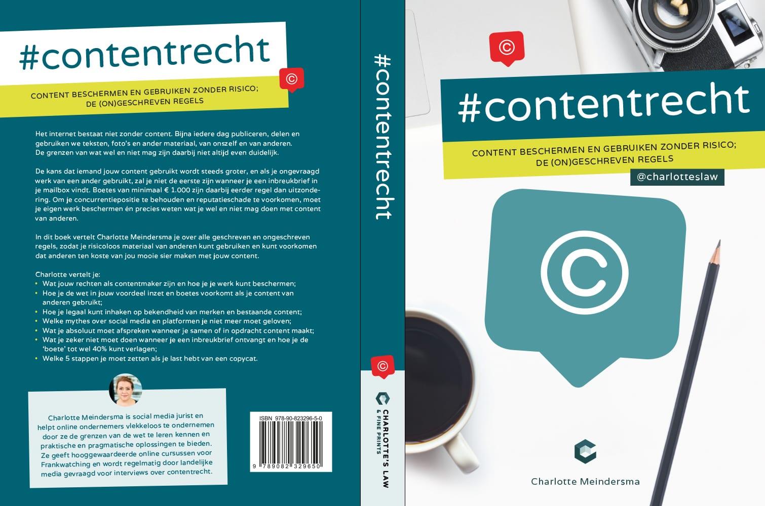 Contentrecht omslag