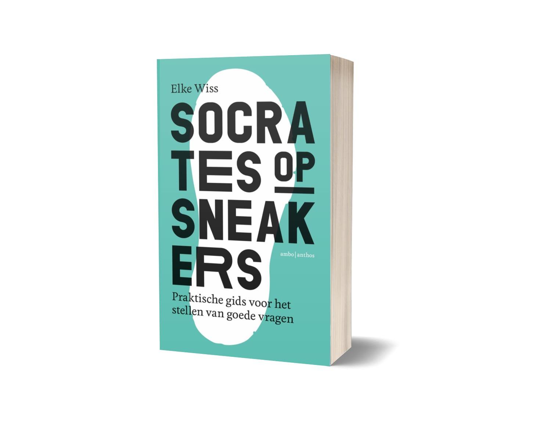 Elke Wiss Socrates op sneakers