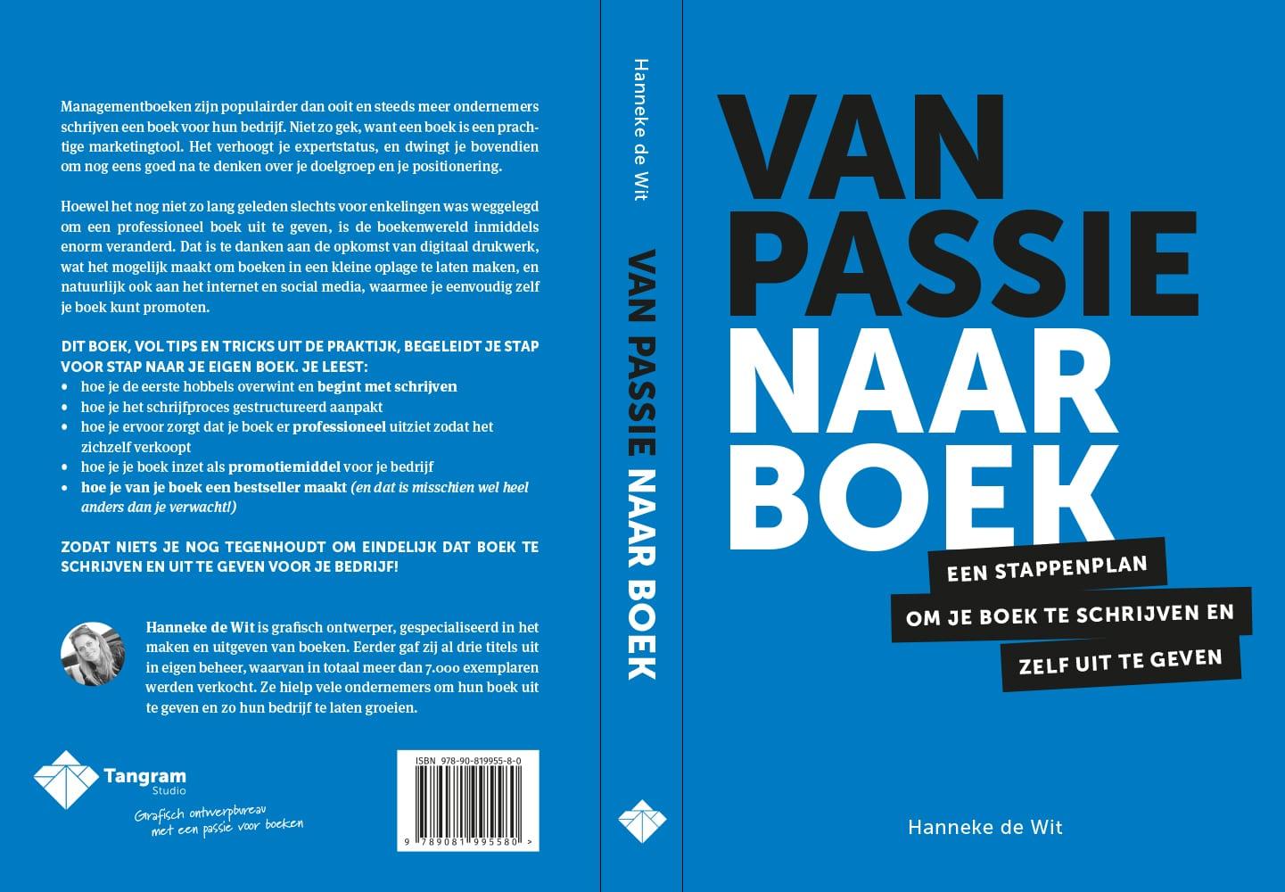 Van passie naar boek omslag
