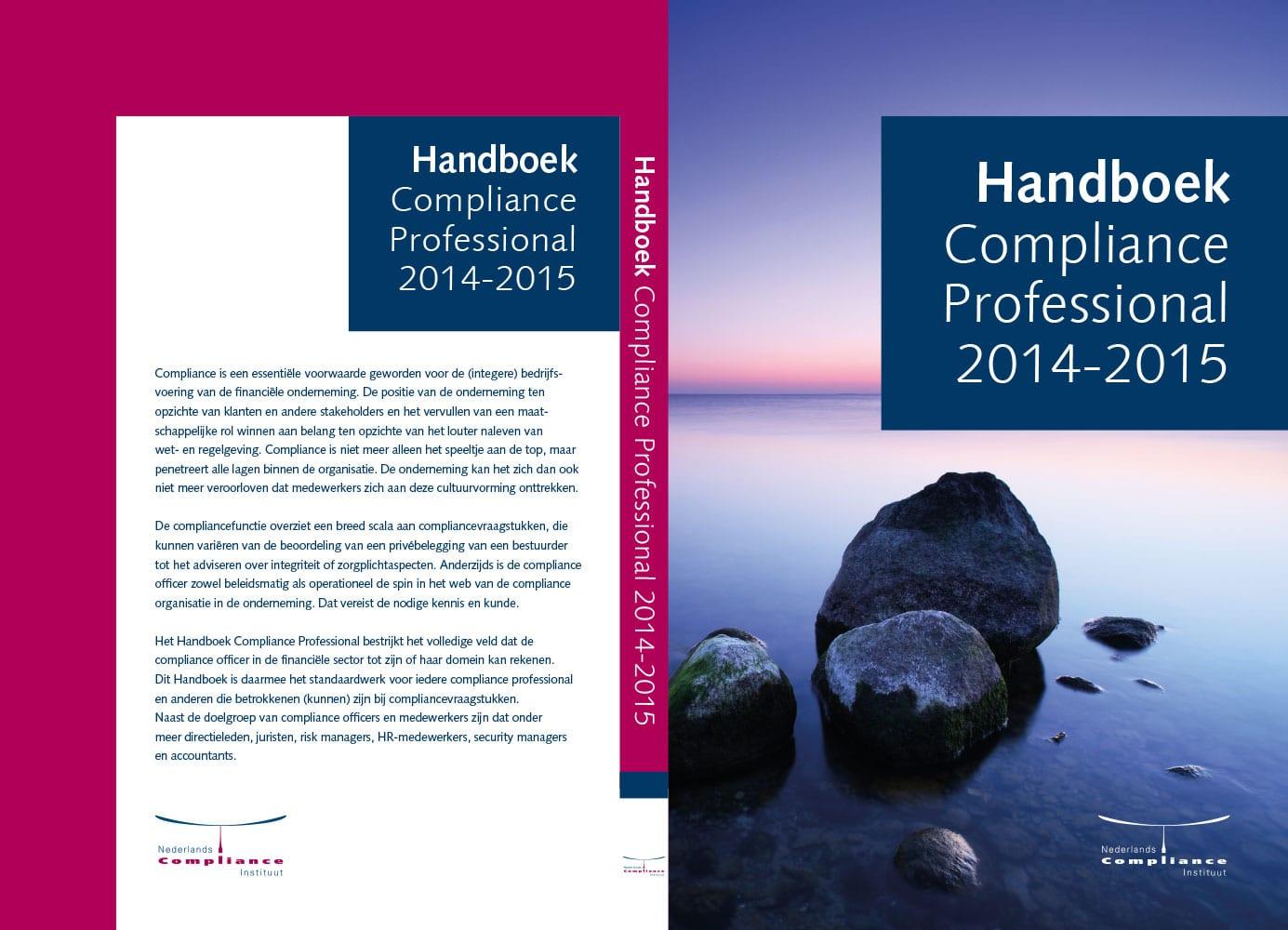 Handboek Compliance Professional 2015 omslag