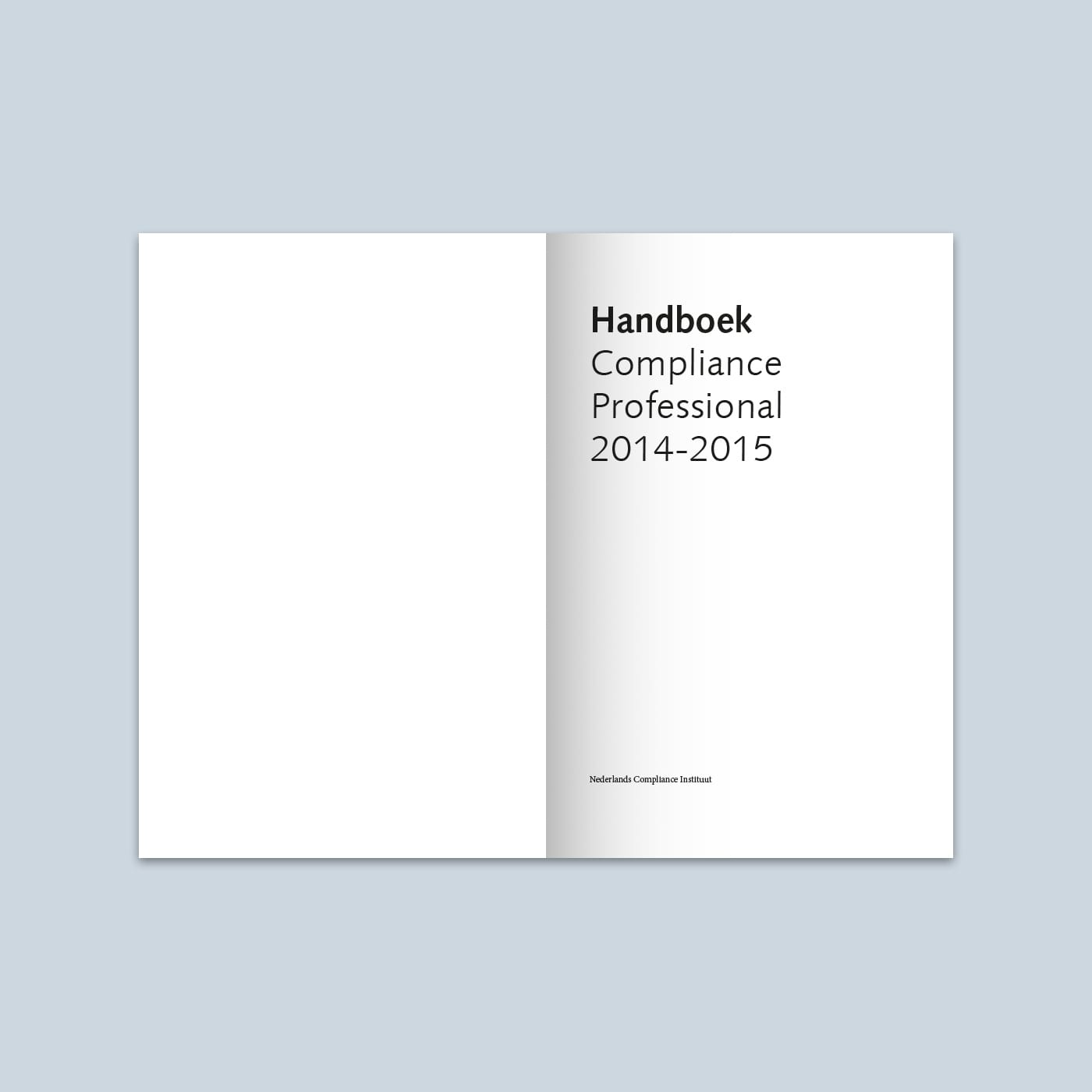 Handboek Compliance Professional 2015 titelpagina