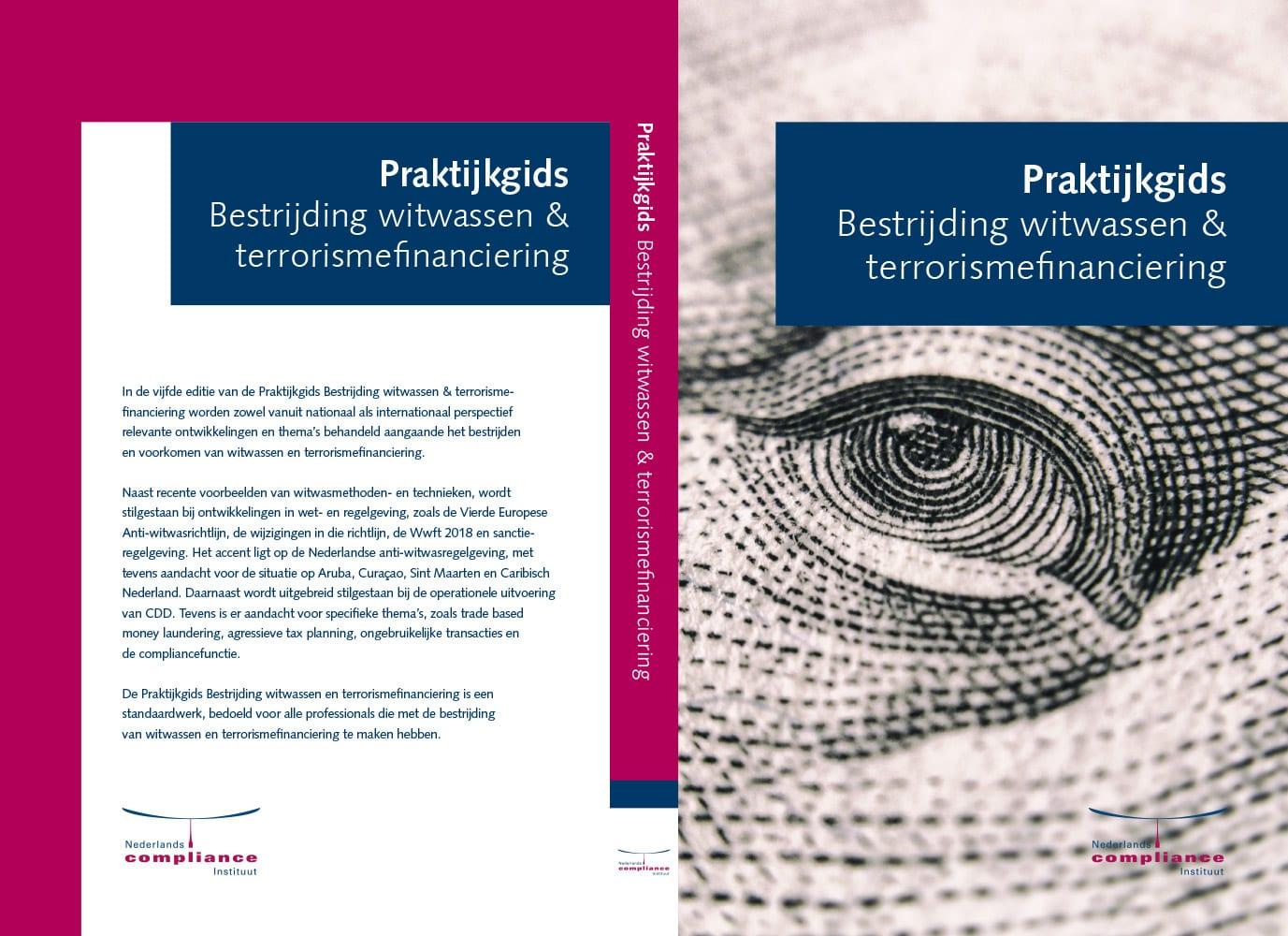 Omslag Praktijkgids Bestrijding witwassen en terrorismefinanciering 2019