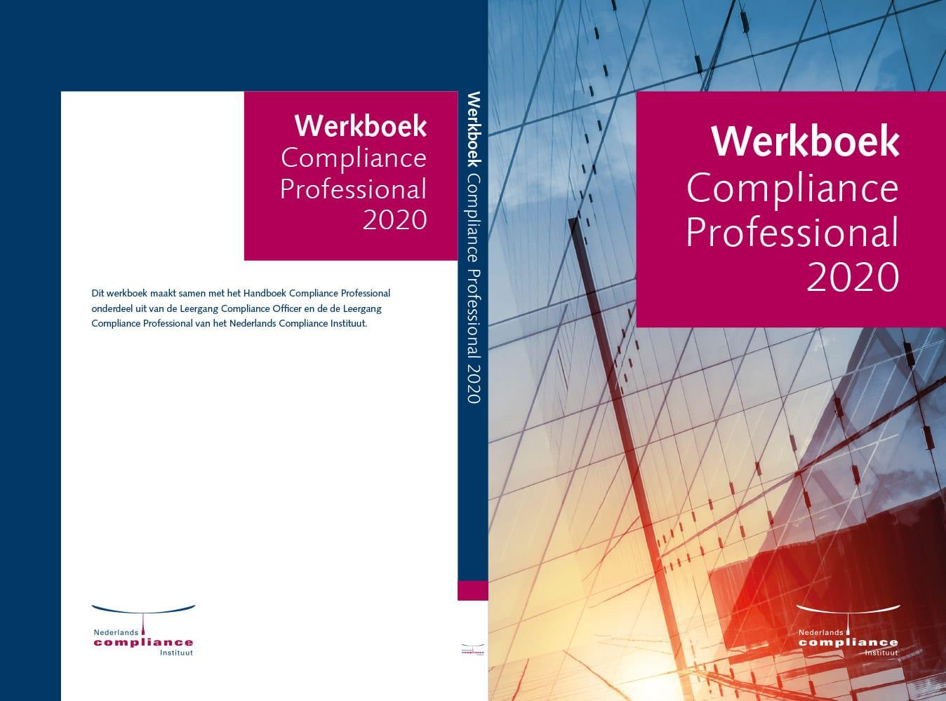 Werkboek Compliance Professional omslag