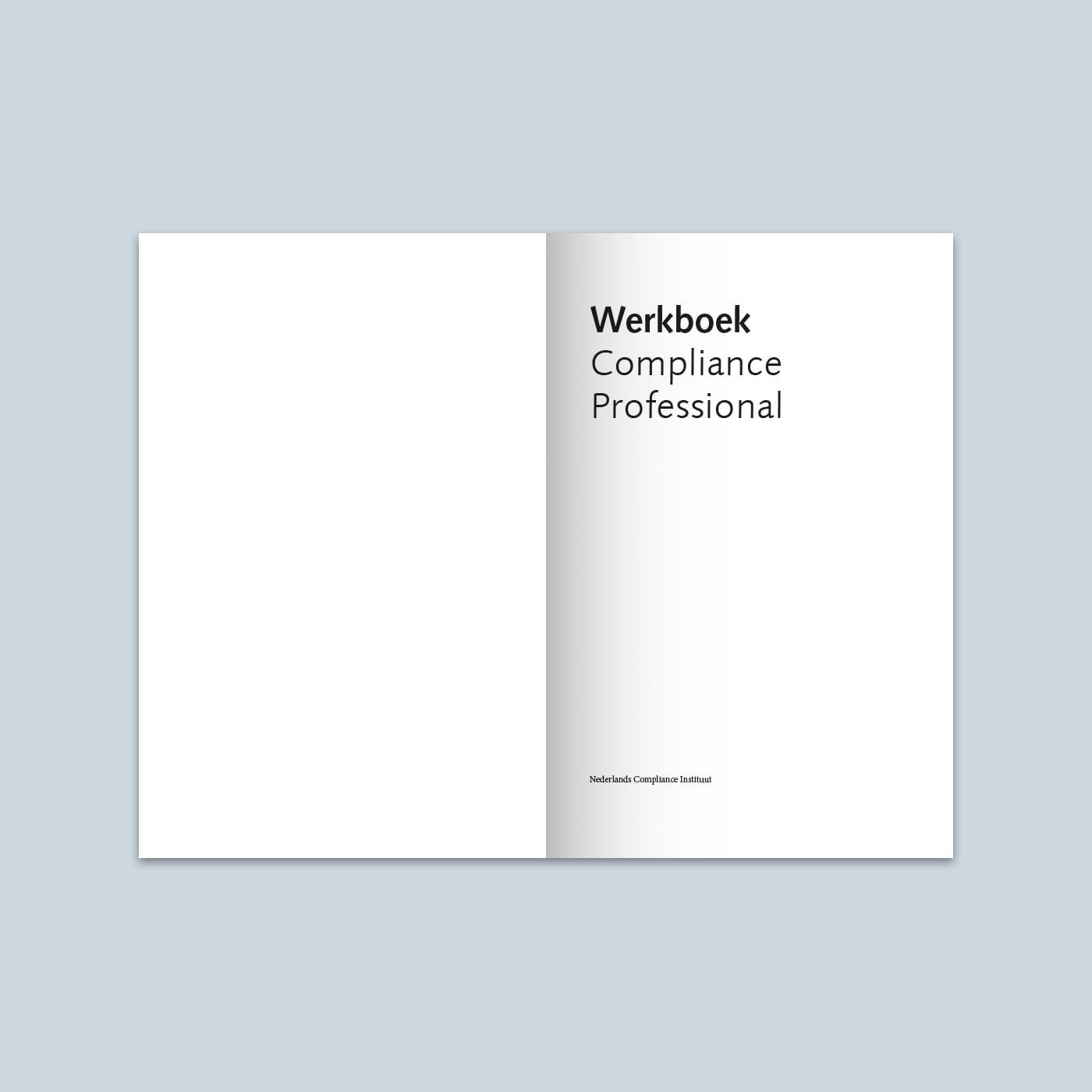 Werkboek Compliance Professional 2011 binnenwerk