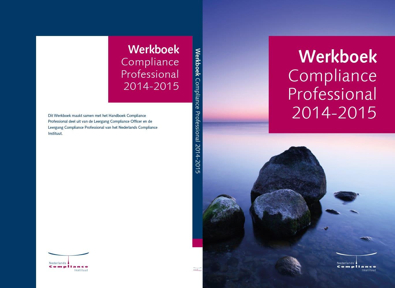 Werkboek Compliance Professional 2015 omslag