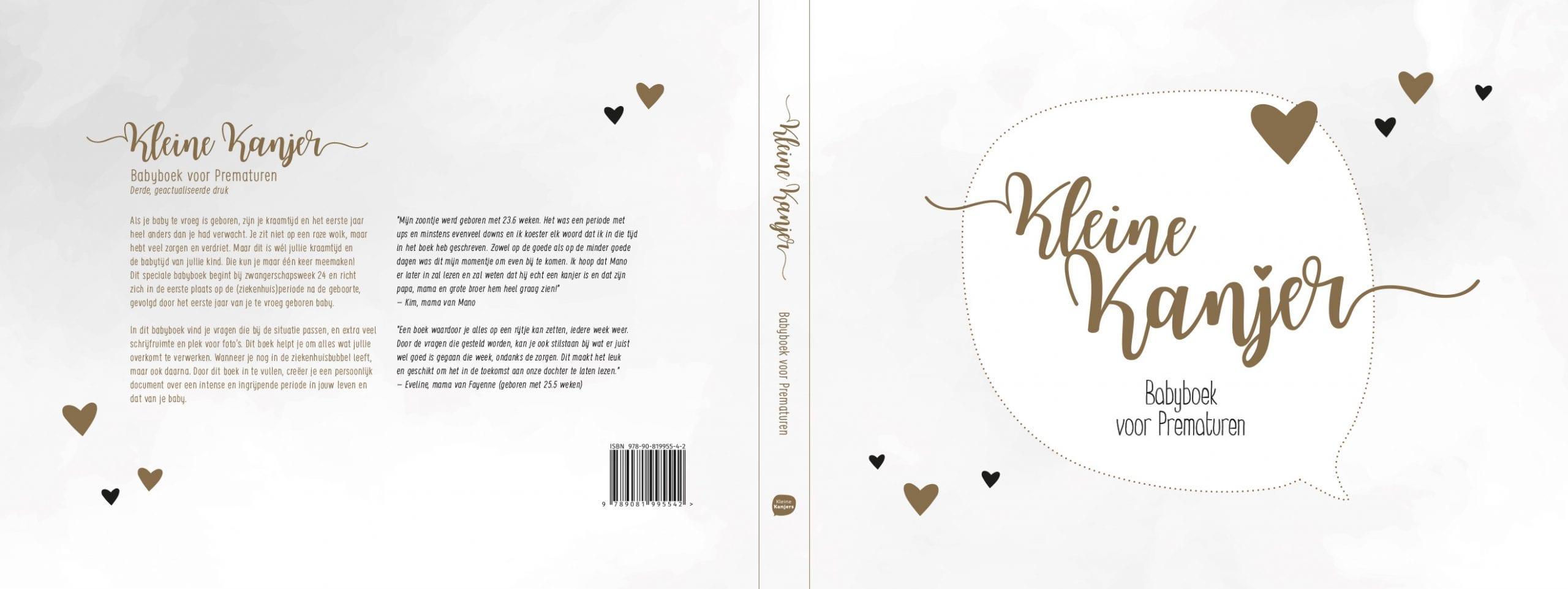 Babyboek voor Prematuren 3 omslag