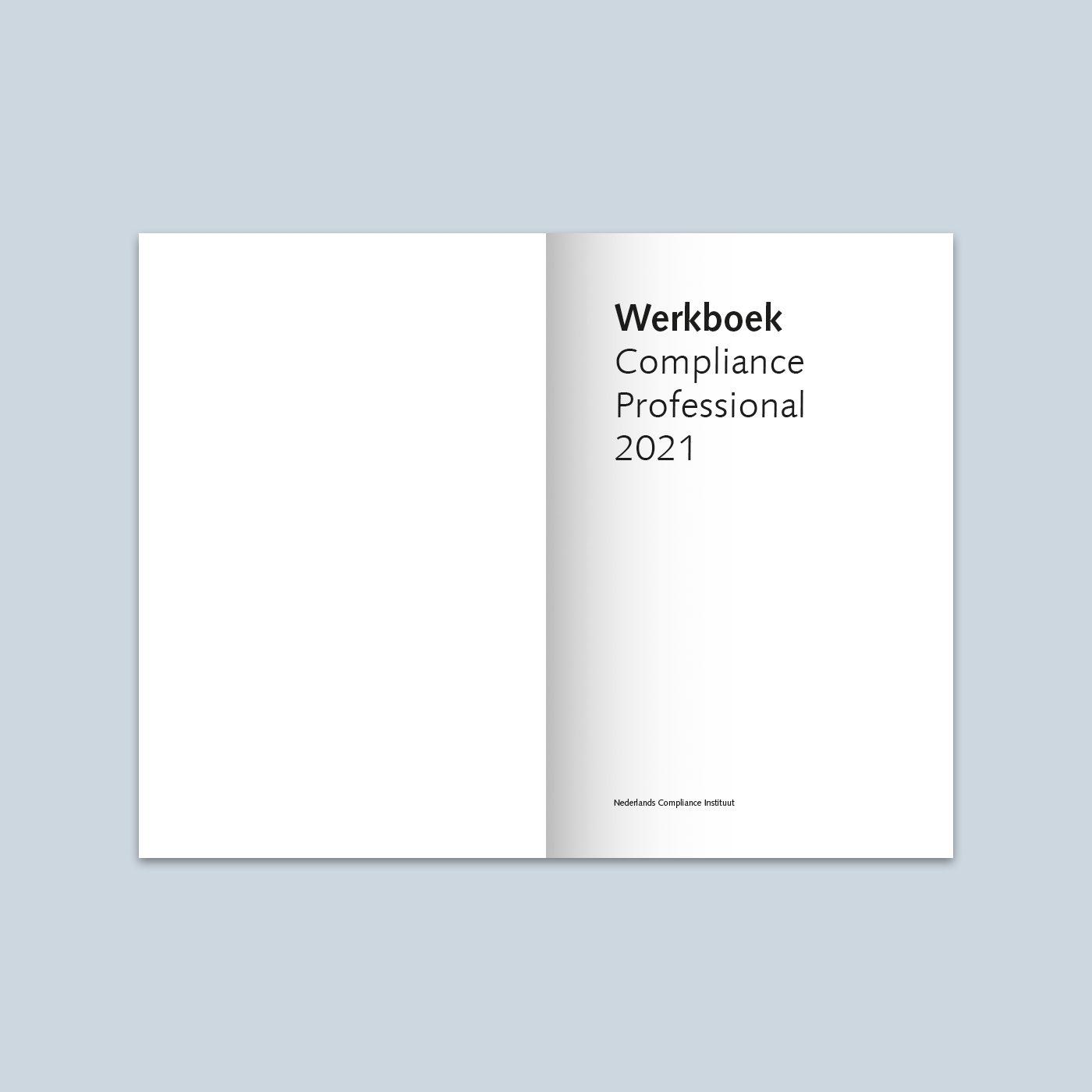 Werkboek Compliance Professional 2021 binnenwerk 1