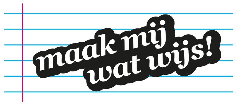 Logo Maak Mij Wat Wijs