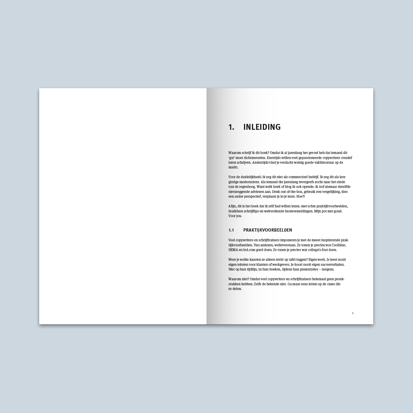 Creatief schrijven voor copywriters binnenwerk schets 1