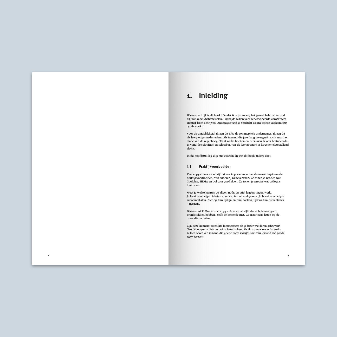 Creatief schrijven voor copywriters binnenwerk schets 4
