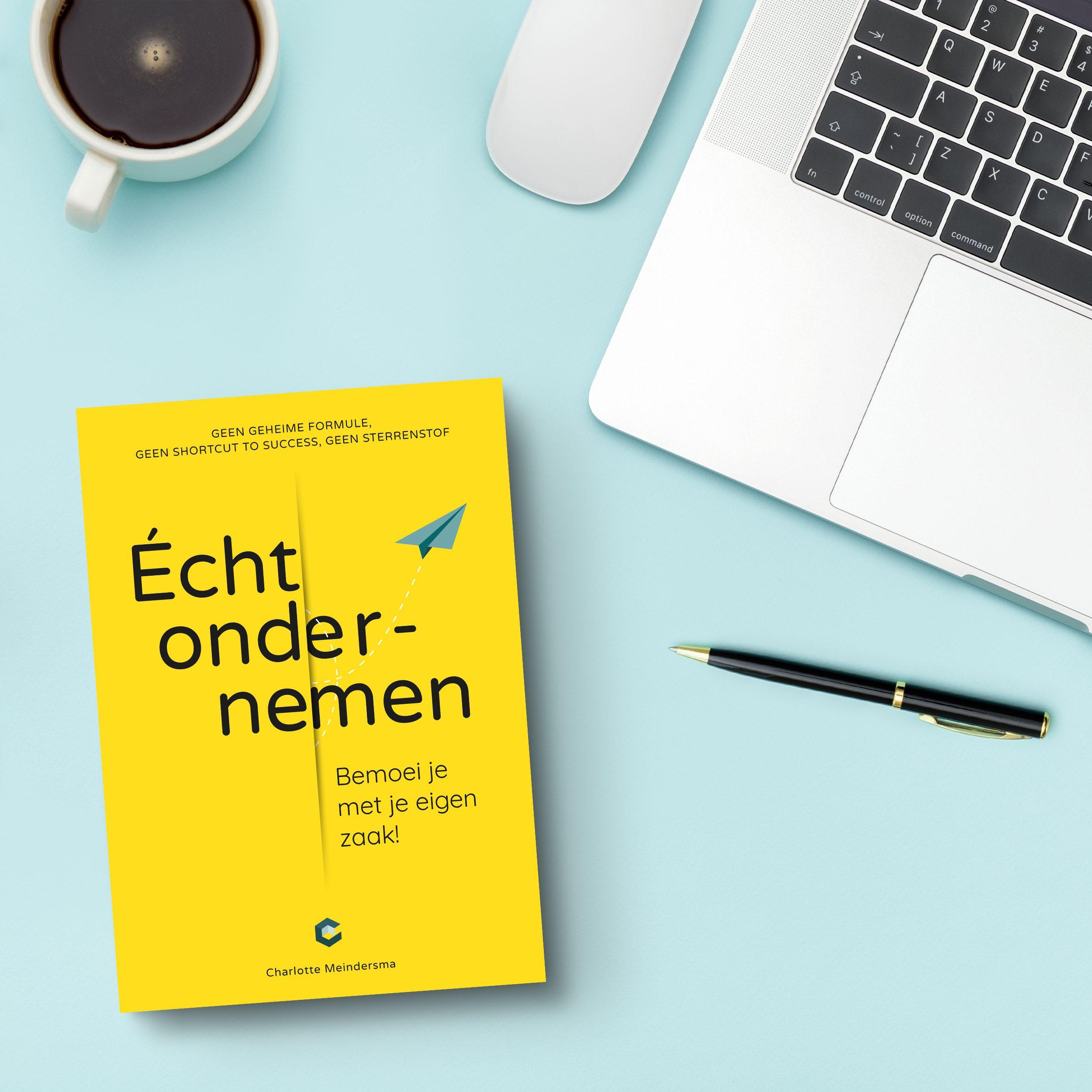 Promotie boek Van passie naar boek instagram