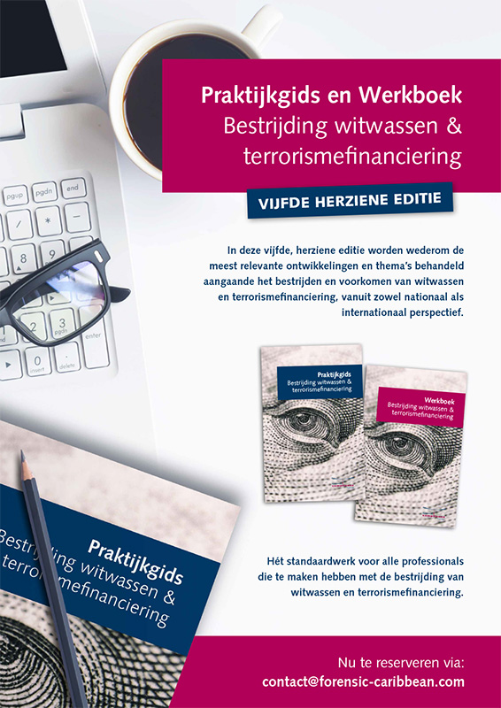 Promotie boek Praktijkgids bestrijding witwassen