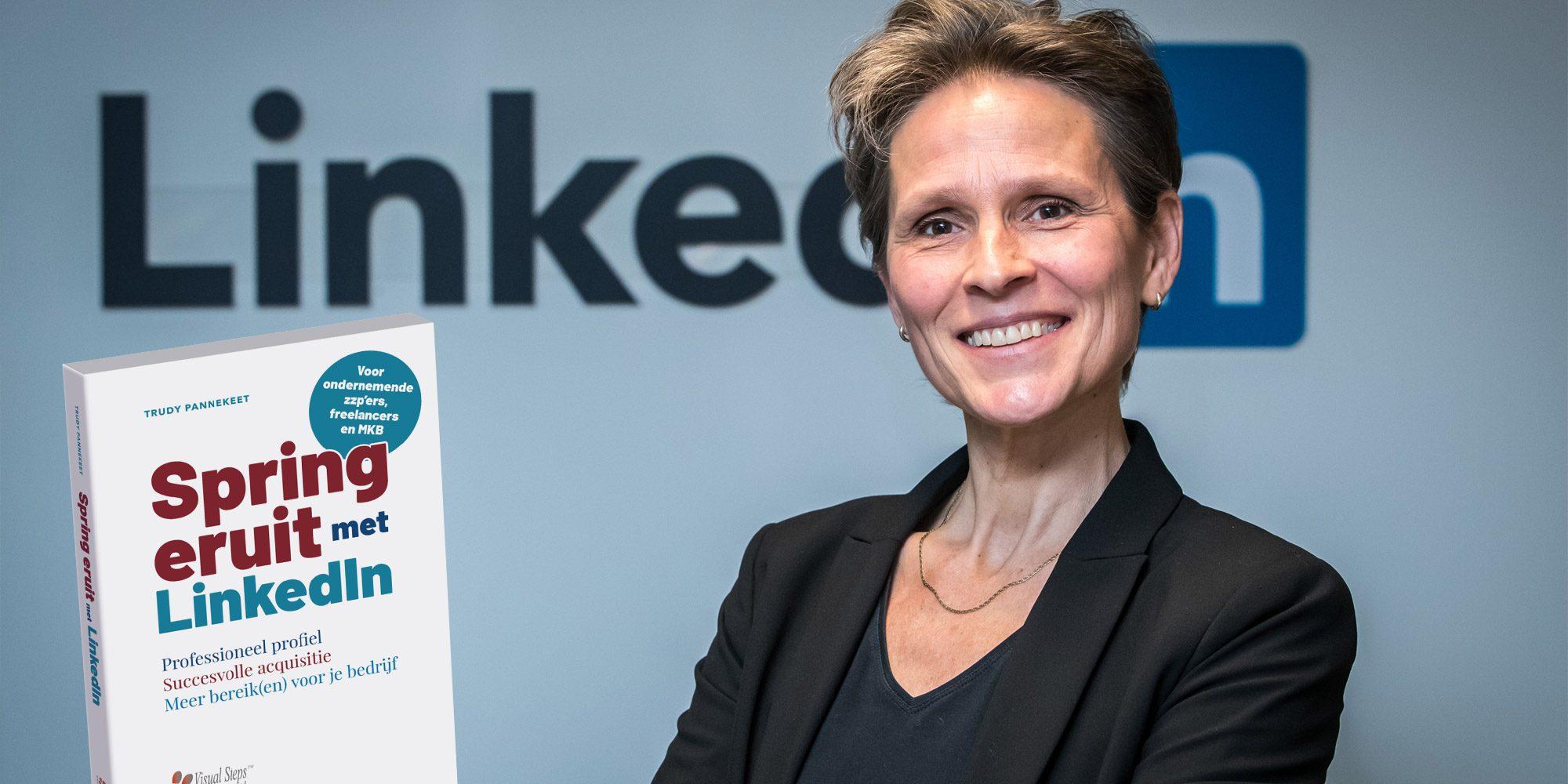 Trudy Pannekeet Spring eruit met LinkedIn